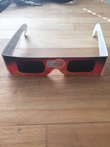 Intact Solar Eclipse Shades