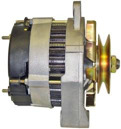 home alternators a13n291 valeo paris rhone 70 amp alternator [ 1210 x 1305 Pixel ]