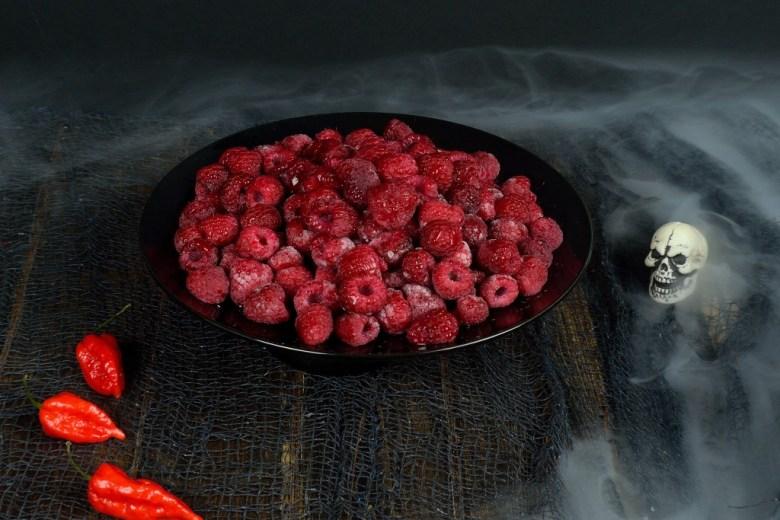 ghost pepper raspberry sorbet 5