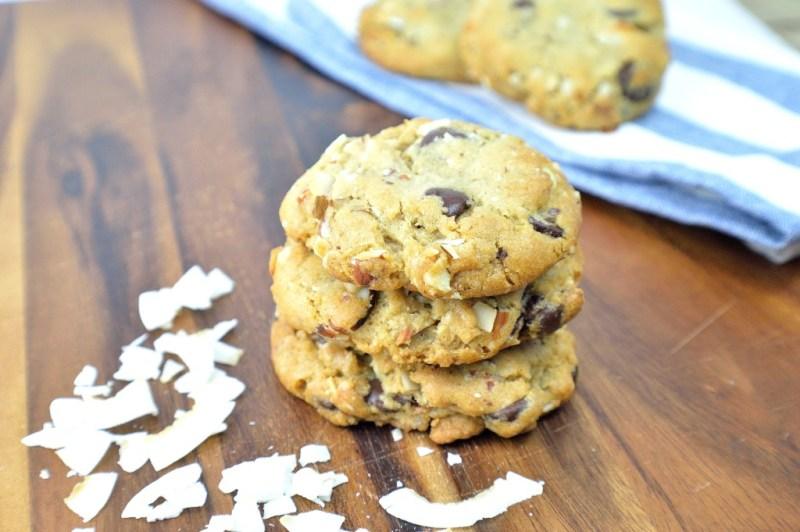 vegan chocolate chip cookies 1