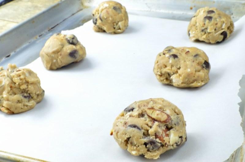 vegan chocolate chip cookies 9