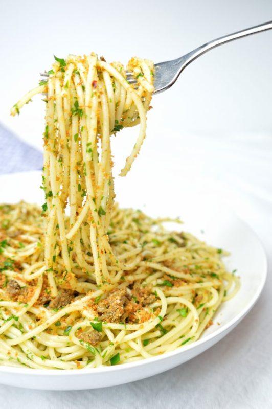 frazzle caper breadcrumb pasta 3