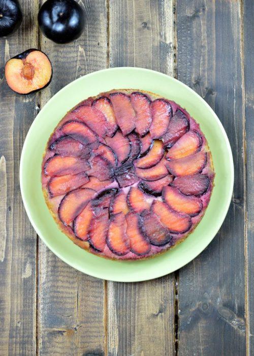 plum olive oil cake 5