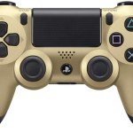 Manette PS4 Dual Shock 4 Doré