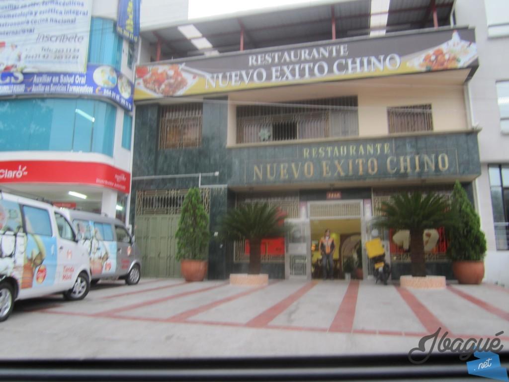 Restaurante Nuevo Exito Chino ubicado en la carrera quinta