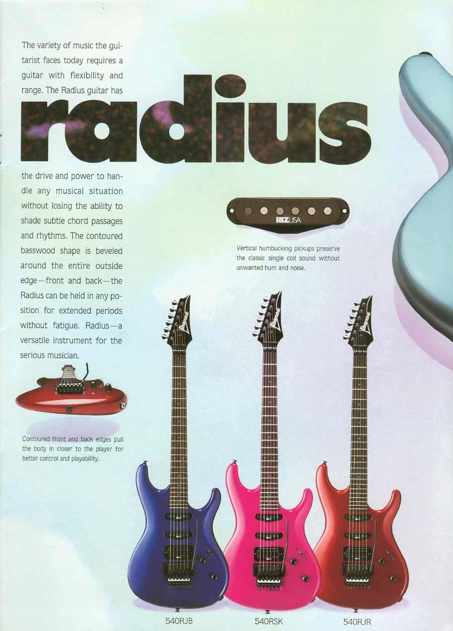 Ibanez Rules 1988 US Catalog