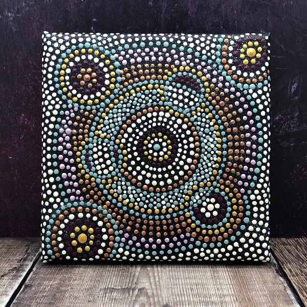 Sterrenhemel • dot painting Ibbel Dibbel