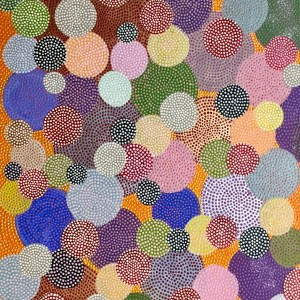Bubbels • Bubbles • dot painting • Ibbel Dibbel