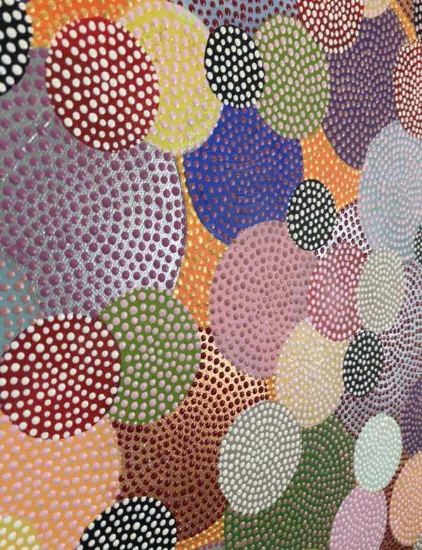 Bubbels • Bubbles • dot painting • Ibbel Dibbel
