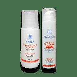 Duo solaire : Crème FPS 30 50 ml et Huile d'été