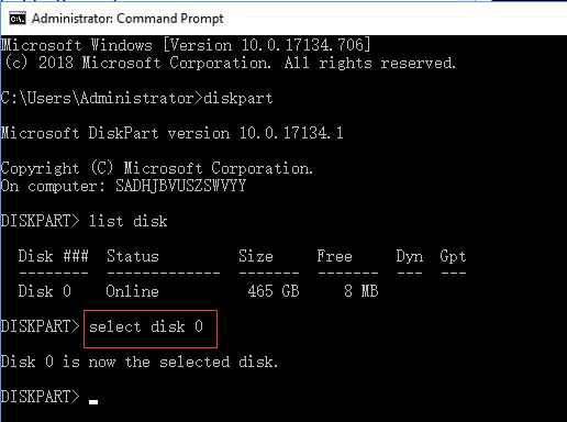How to Format Hard Drive/Disk using CMD