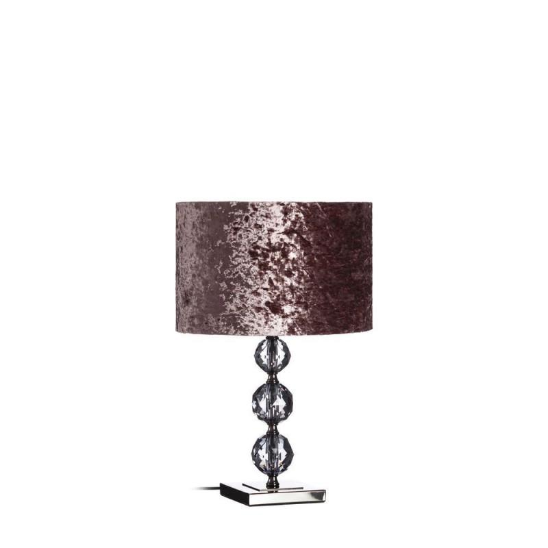 Lmpara mesa en cristal color prpura 51 cm  Ibele Home