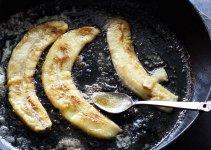 banana in cast iron