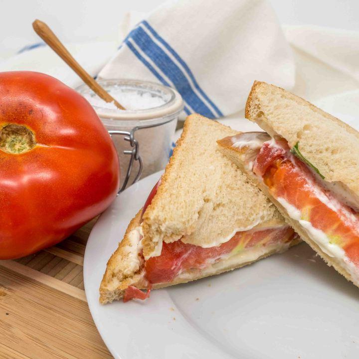 Southern Tomato Sandwich