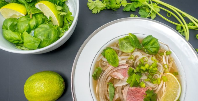 Make pho, the tasty Vietnamese beef noodle soup, in your slow cooker
