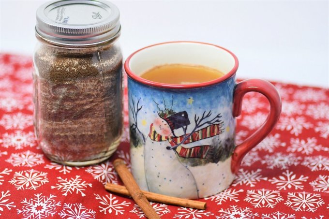 This Russian tea recipe is one of our favorites for winter | orange spice tea recipe