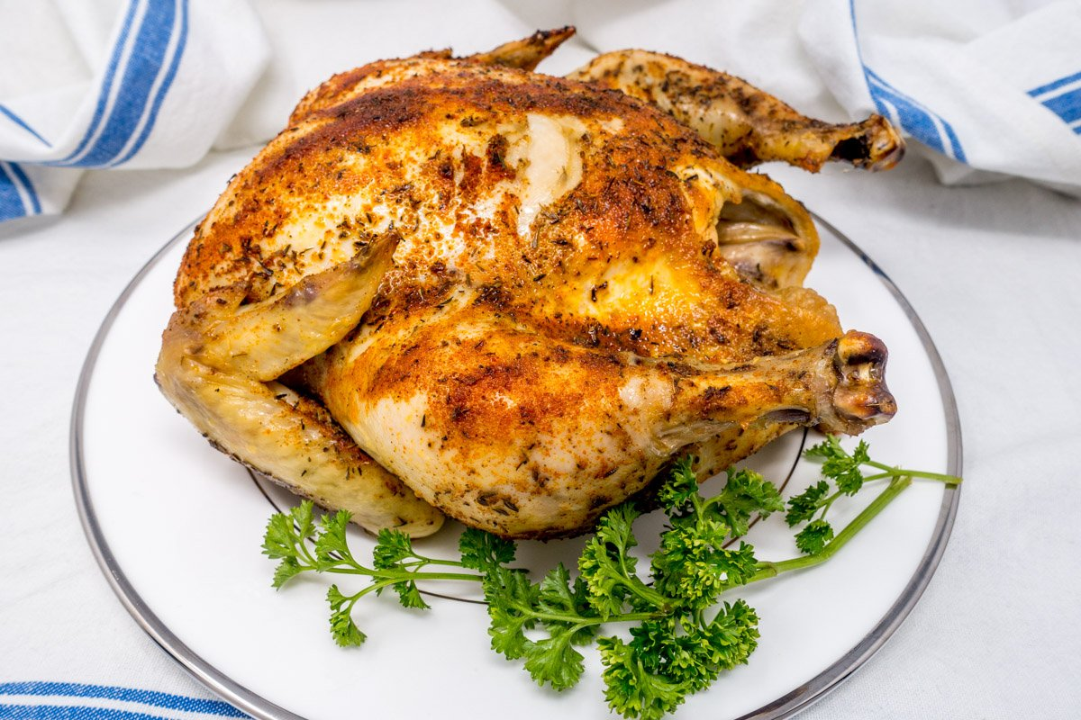 Delicious And Easy Slow Cooker Rotisserie Chicken I Believe I Can Fry