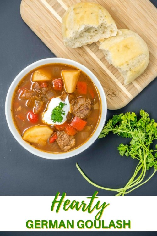 Try this slow-cooker German goulash recipe for a delicious dish on a winter day