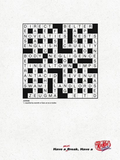 mini-crossword