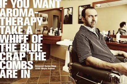 Universal Barber Shop: Aromatherapy