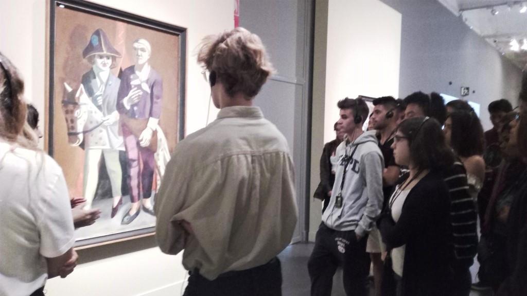 Exposició de Max Beckmann al CaixaForum de Barcelona