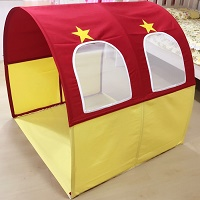 Children Bed Canopy | Fire Engine