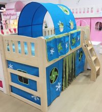 BL303 Bunk Bed with Staircase | Children Furniture ...