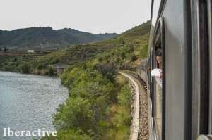 The Douro Valley train ride