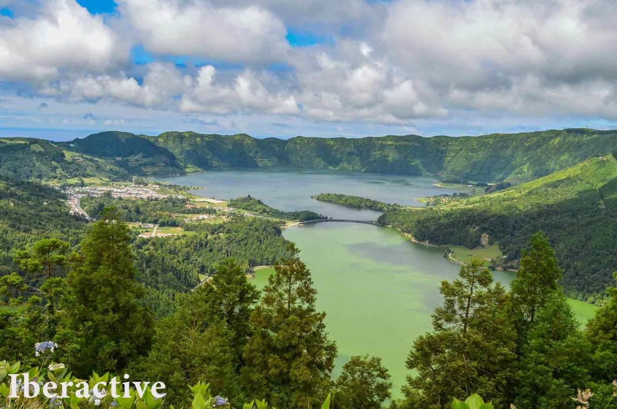 Sete Cidades Lagoon, São Miguel Island, Azores