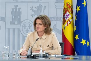 La vicepresidenta cuarta y