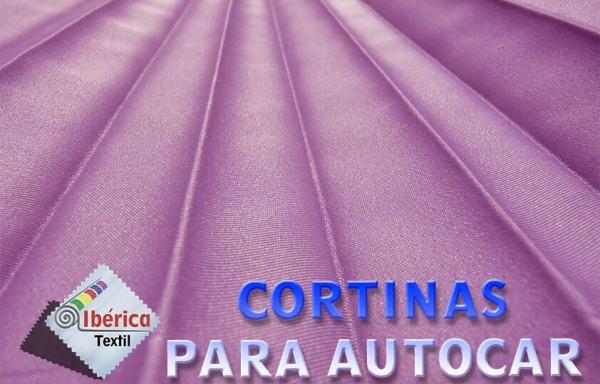 CORTINAS PARA AUTOBÚS Y AUTOCAR (PLISADAS)