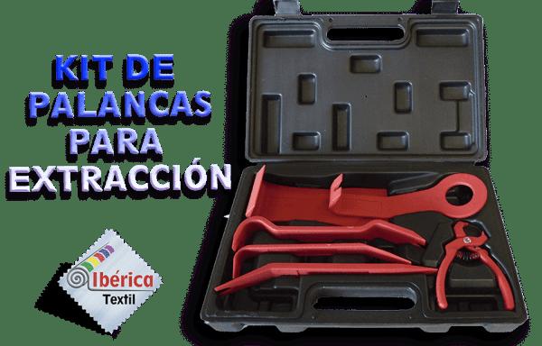 KIT DE PALANCAS PARA EXTRACCIÓN (TAPICERÍA)