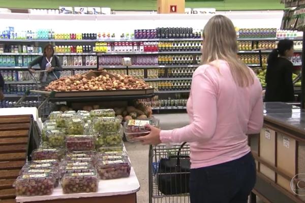 Jornal Bom Dia Brasil – Compras sem planejamento em supermercados saem quase 20% mais caras