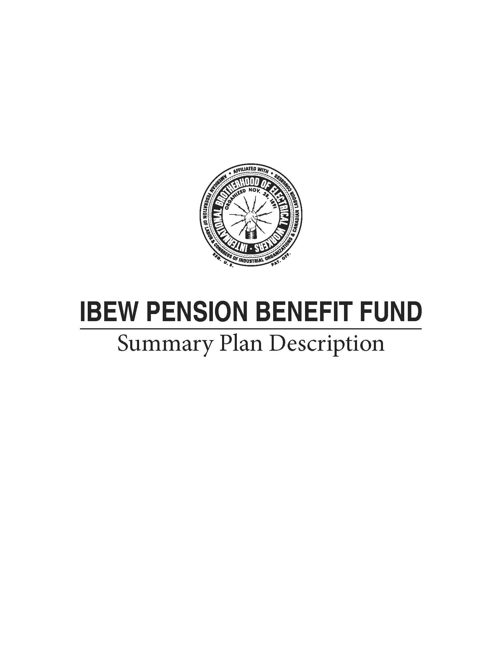 IBEW > Pension & Reciprocity