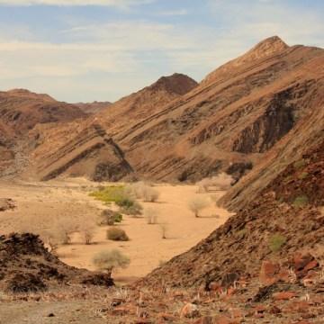 Namibië Kunene 4x4 konvooi reis