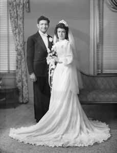 """Mixed"" marriage 1947"