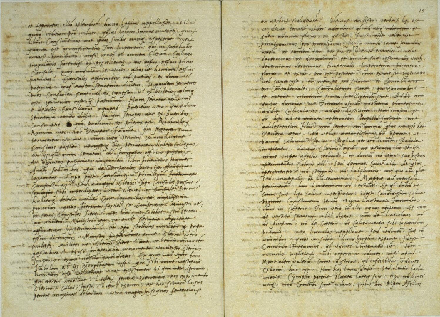 Lorenzo Valla, Declamatio (on the Donation of Constantine