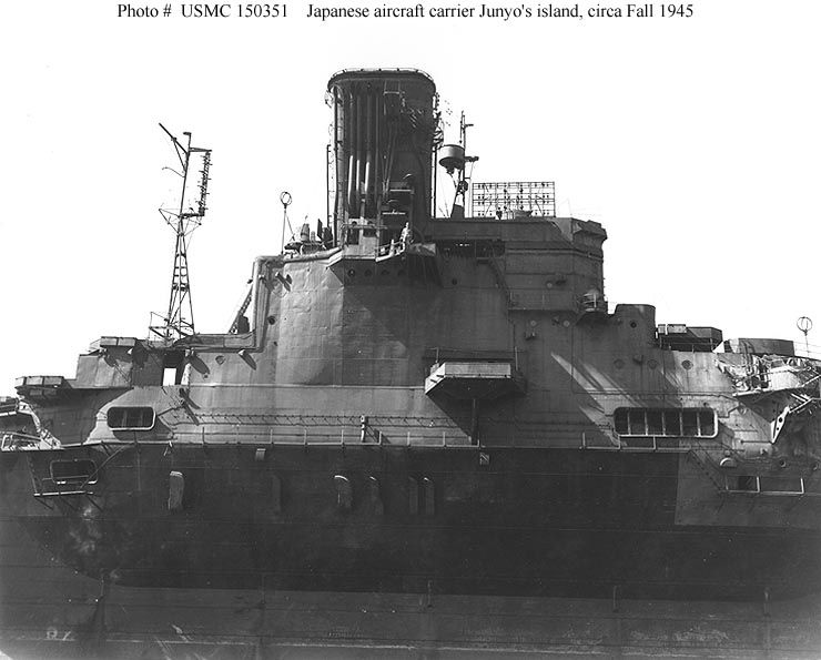 The new york times covered. Japanese Navy Ships--Junyo (Aircraft Carrier, 1942-1947)