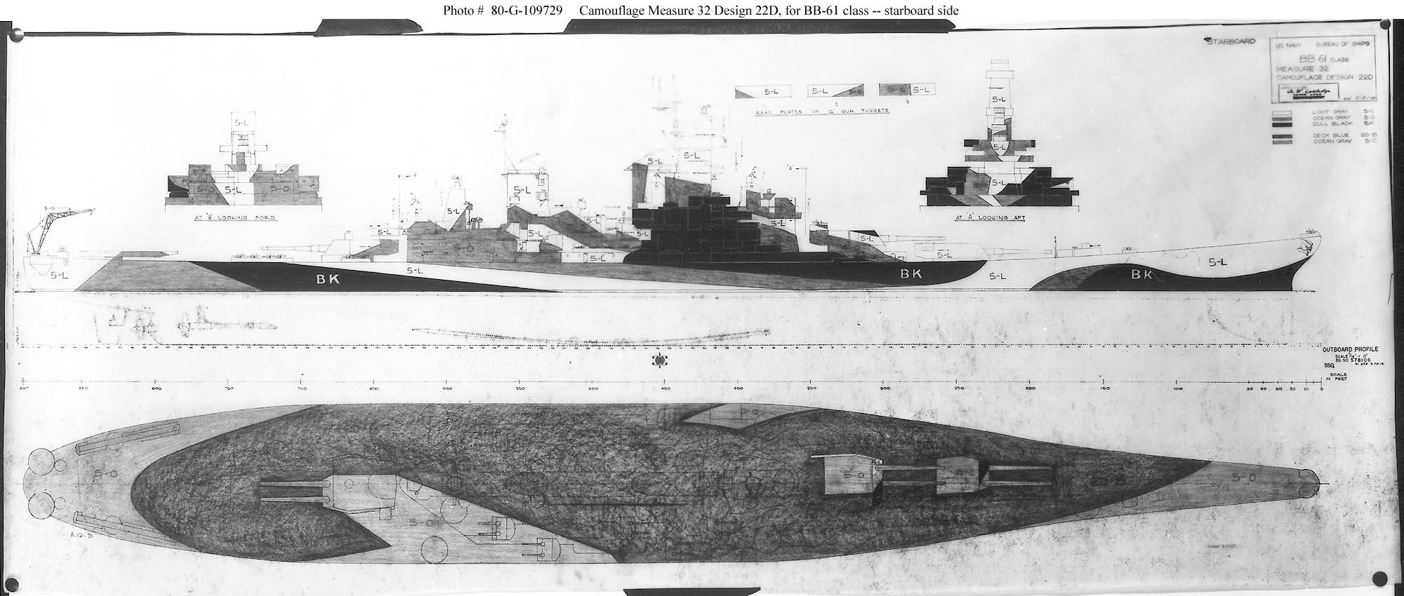 hight resolution of naval battleship diagram