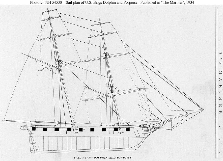 USN Ships--USS Porpoise (1836-1854)