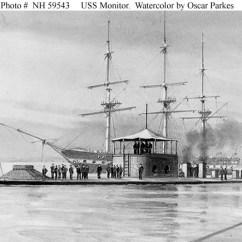 Uss Monitor Diagram Emperor Penguin Usn Ships--uss (1862-1862)