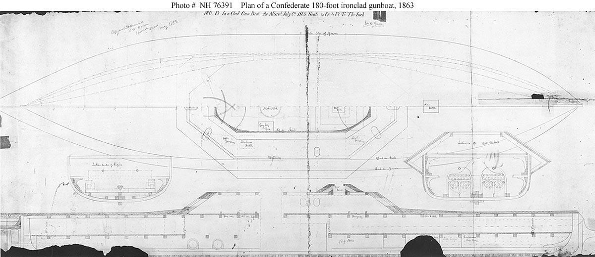 Confederate Ships--CSS Virginia II
