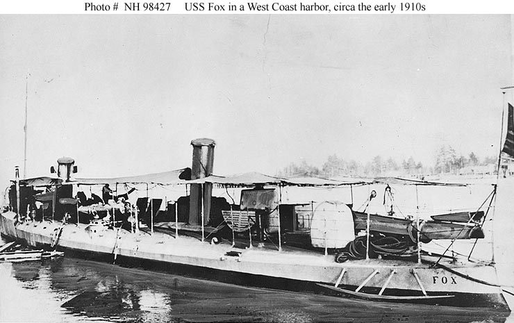 USN Ships--USS Fox (Torpedo Boat # 13)