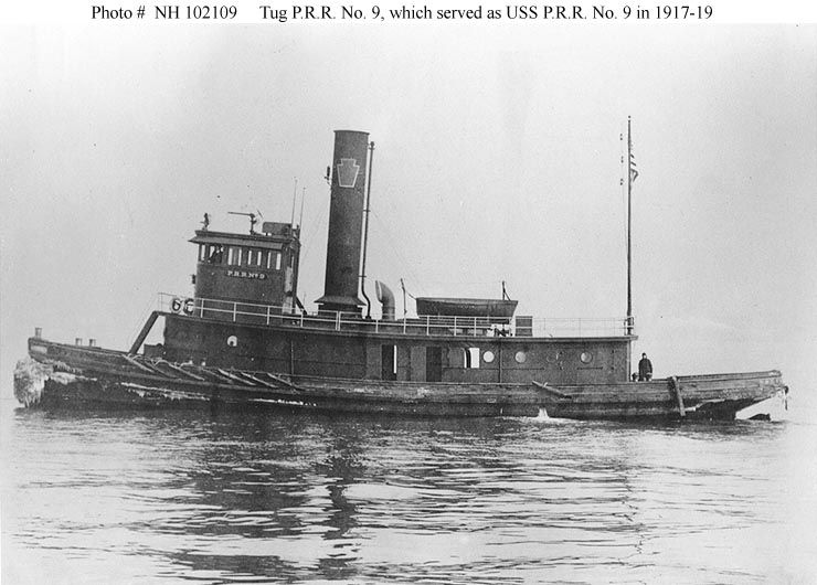 Civilian ShipsPRR No9 Harbor Tug 1904