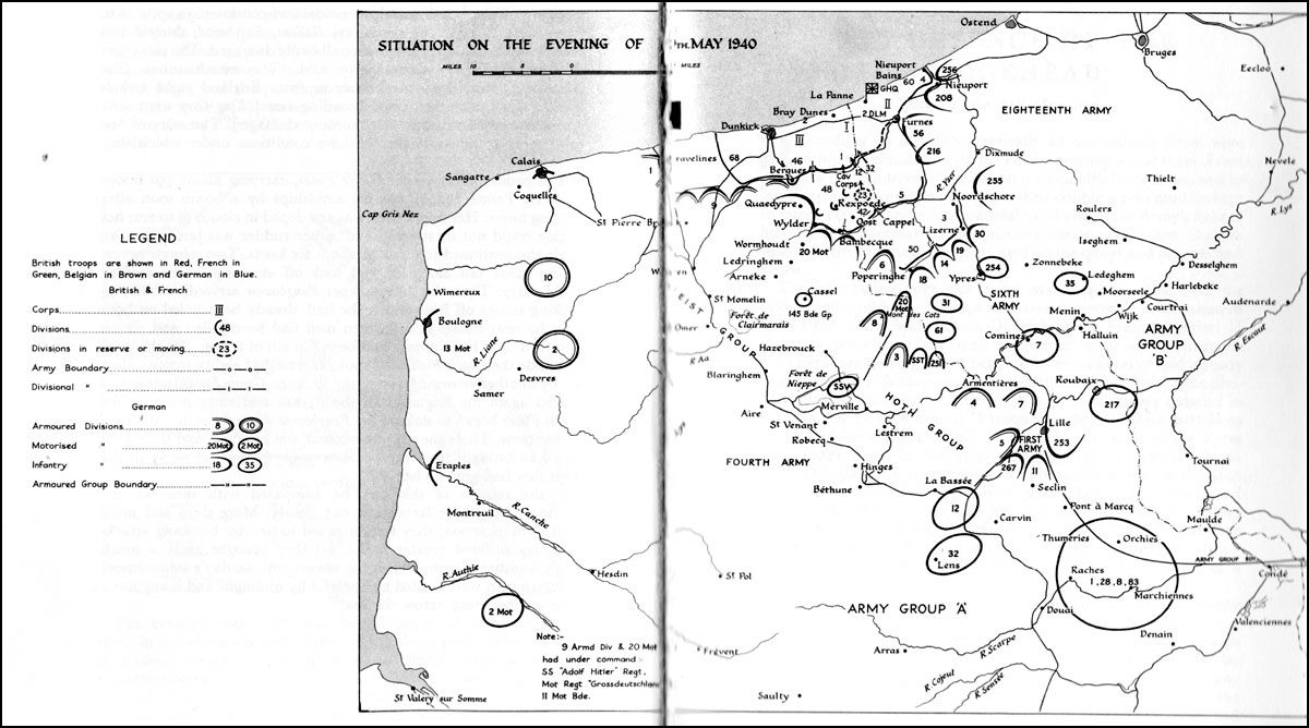 HyperWar: The War in France and Flanders 1939–1940