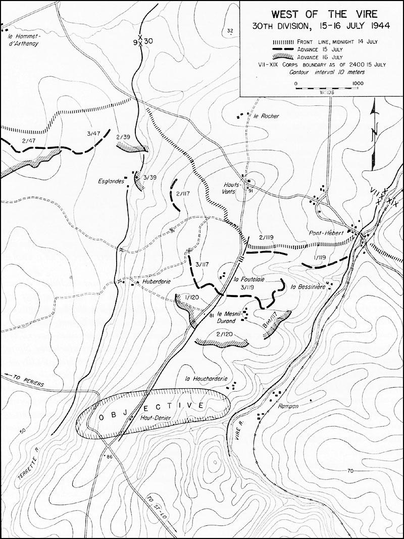 HyperWar: St-Lo (7 July--19 July 1944)