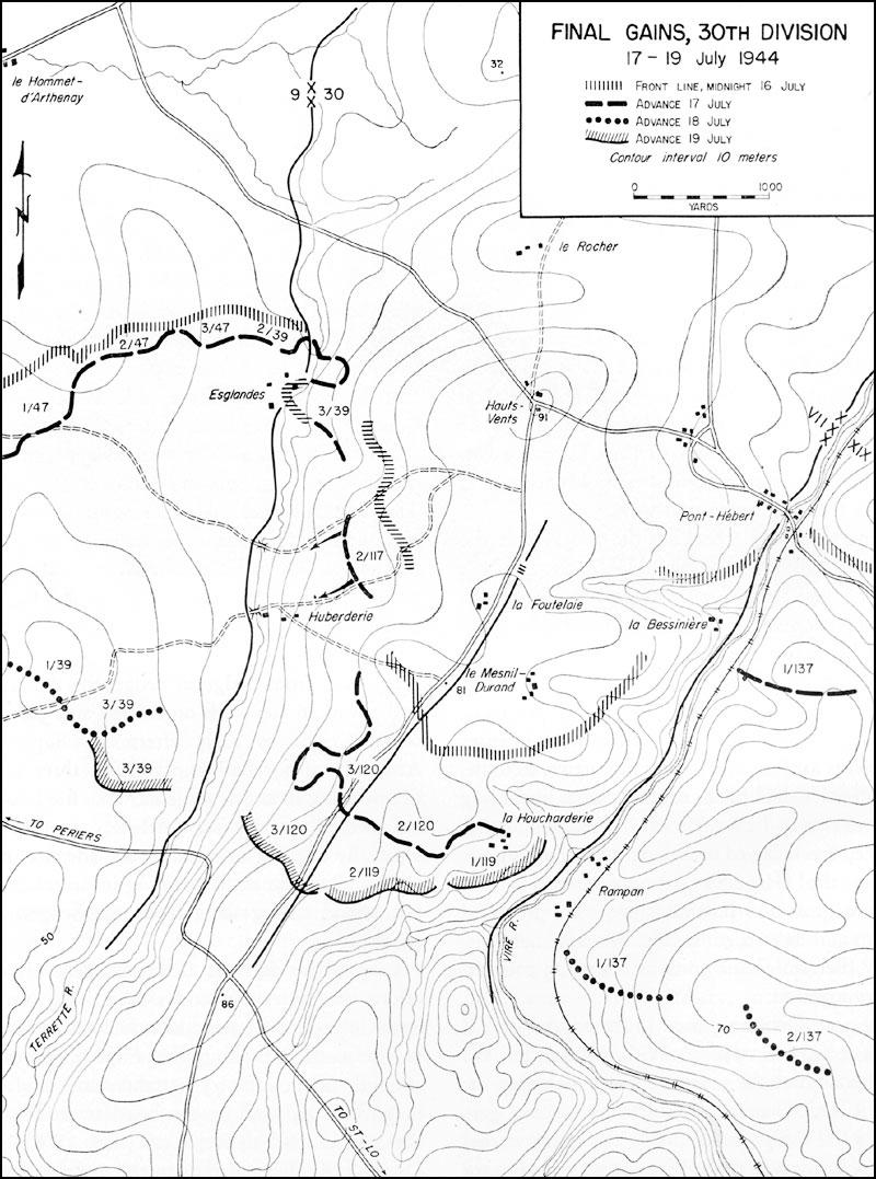 HyperWar: St-Lo (7 July-19 July 1944)