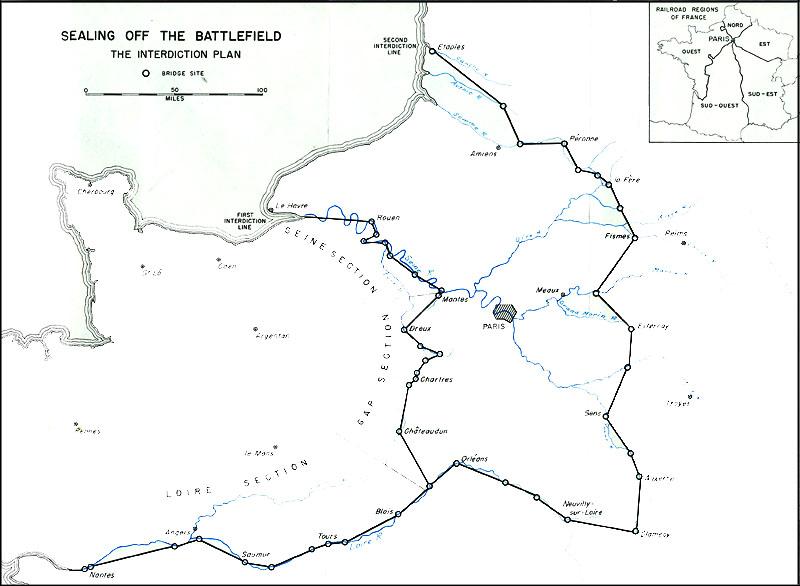 Seine river map