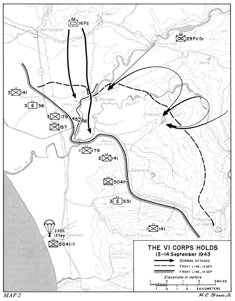HyperWar: US Army in WWII: Salerno to Cassino [Chapter 8]
