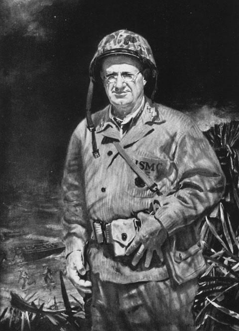 Lt. Gen. Holland M. Howlin Mad Smith